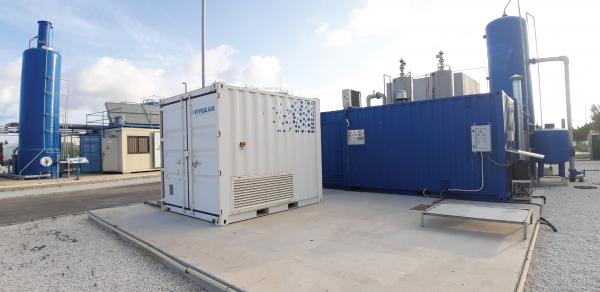HyGear EU Project All-Gas_biogas upgrading
