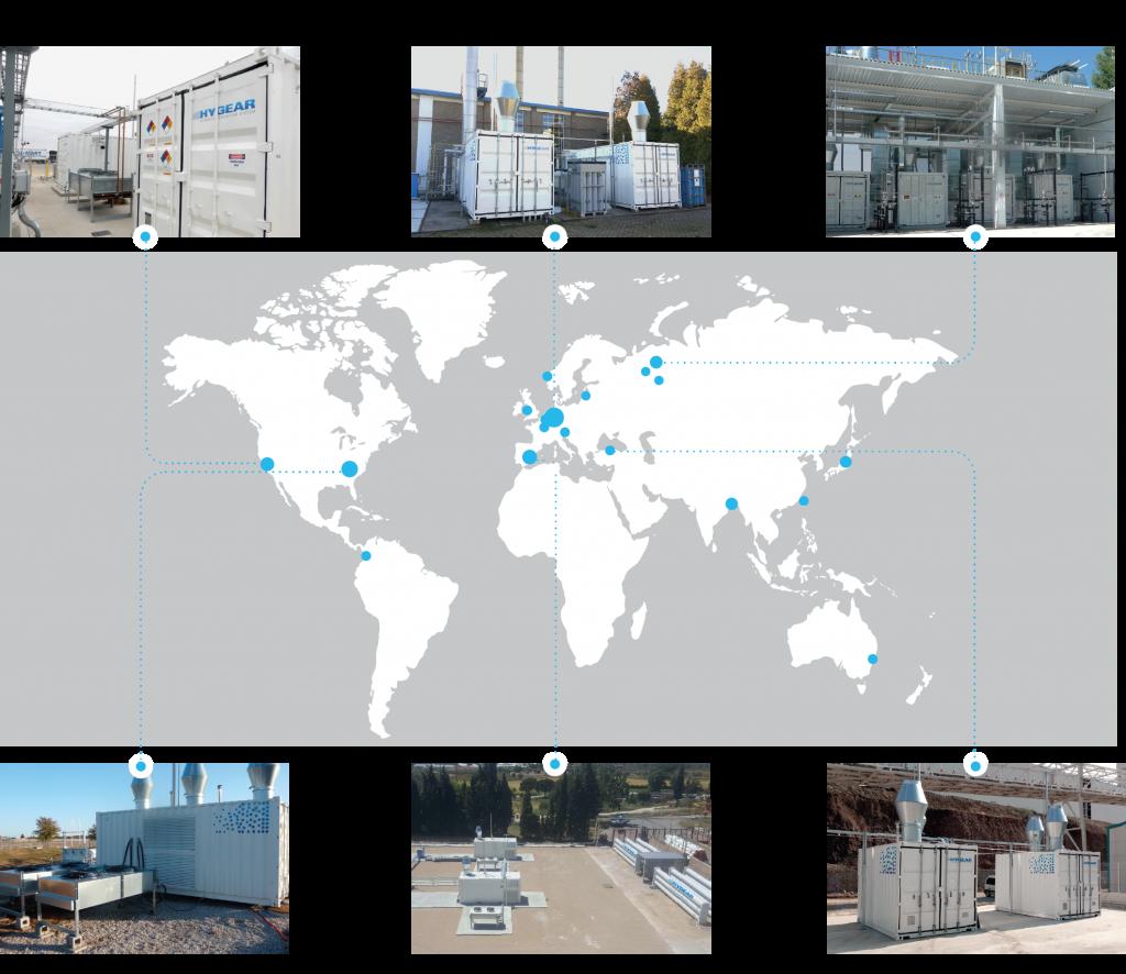 HyGear global installations