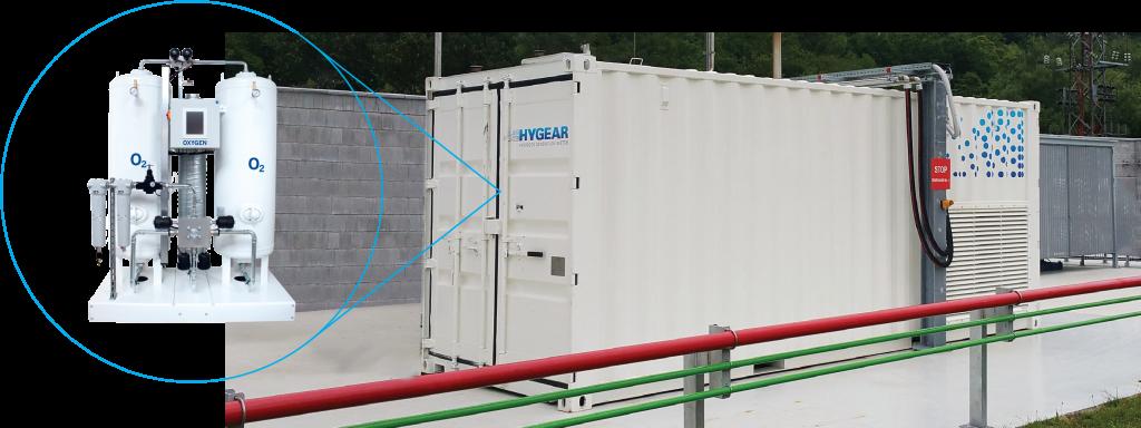 HyGear_OGEN integrated oxygen generation system installation